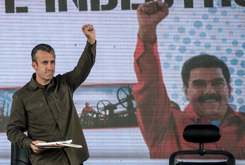 The US Treasury Department on Monday accused Tareck El Aissami and an ally, businessman Samark Jose Lopez Bello, of being major cocaine traffickers (AFP Photo/Juan BARRETO)