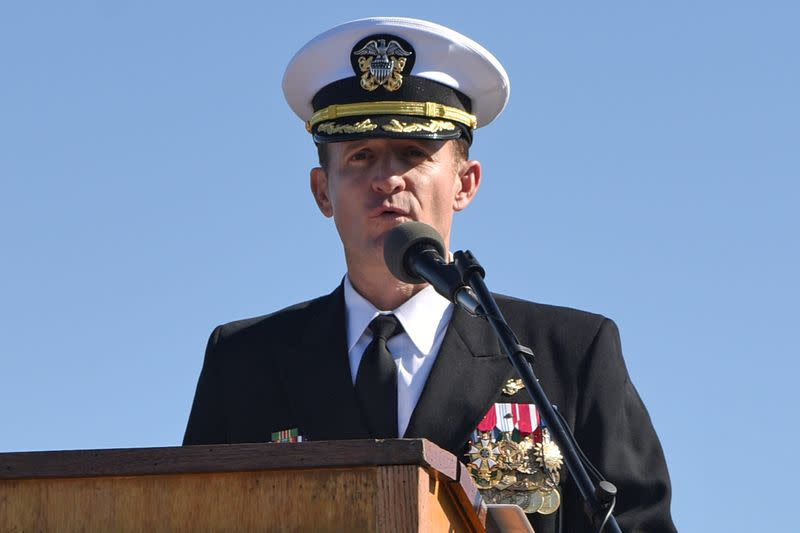 U.S. Navy relieves aircraft carrier commander who wrote letter urging coronavirus action