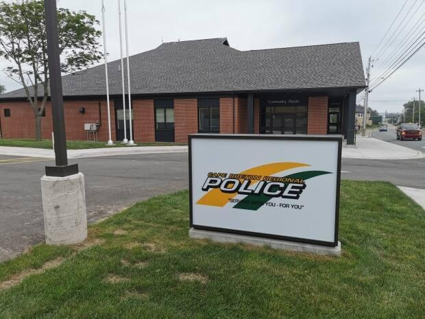 The new Cape Breton Regional Police East Division Headquarters in Glace Bay.   (George Mortimer/CBC - image credit)