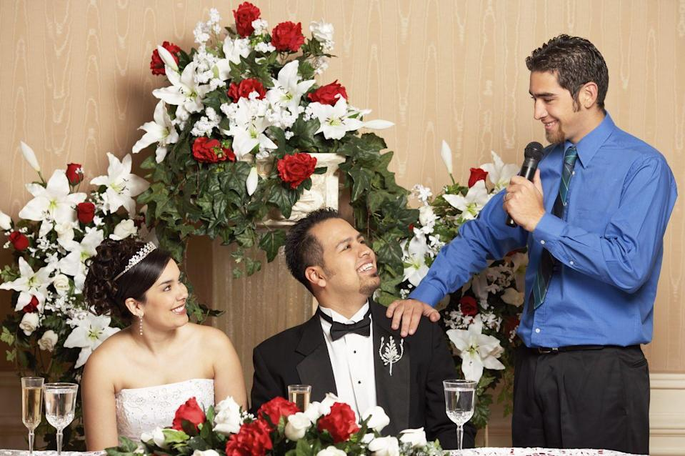 """<p>Surprise speeches are a wedding planner's nightmare. """"Surprises or added speeches or toasts can throw a wrench in a perfectly planned schedule,"""" says Hayden. Even worse, they take away from the magic of the moment. """"An unplanned speech that a family member or friend insists on giving could take another 10–15 minutes that the couple could be spending on dancing or spending time with their guests.""""</p>"""