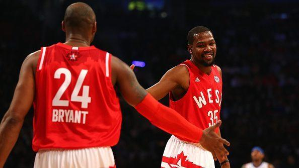 72320e694b1 Kevin Durant has already called Kobe Bryant and Michael Jordan the greatest  of all-time.