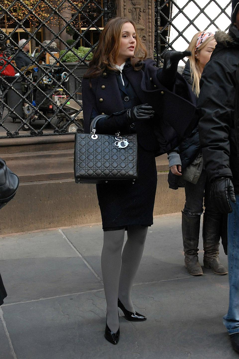 """<p>Any Dior bag with charms was on our must-have list, as was anything <a href=""""http://www.popsugar.com/fashion/Blair-Waldorf-Best-Style-Gossip-Girl-34510133#opening-slide"""" class=""""link rapid-noclick-resp"""" rel=""""nofollow noopener"""" target=""""_blank"""" data-ylk=""""slk:that Blair Waldorf wore"""">that Blair Waldorf wore</a>.</p>"""