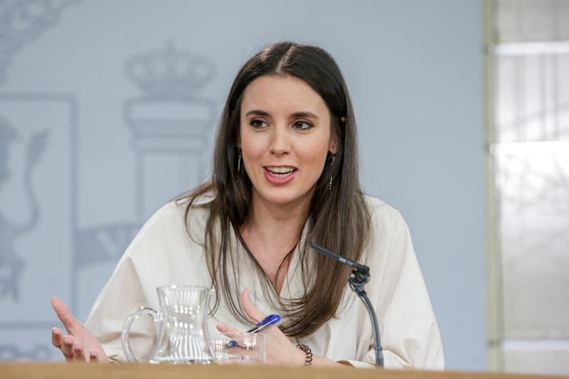 Irene Montero, ministra de Igualdad. (Foto: Ricardo Rubio / Europa Press / Getty Images).