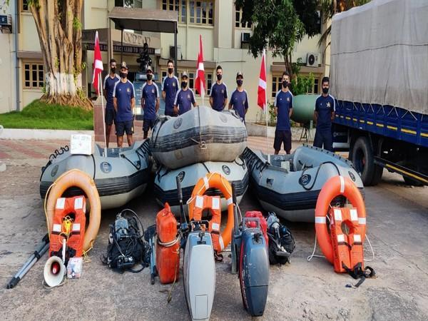 Indian Navy prepared for rescue and relief ops (Photo/ANI)