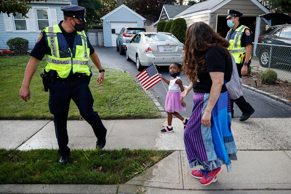 Police Accountability-Suing Protesters (Copyright 2020 The Associated Press. All rights reserved.)