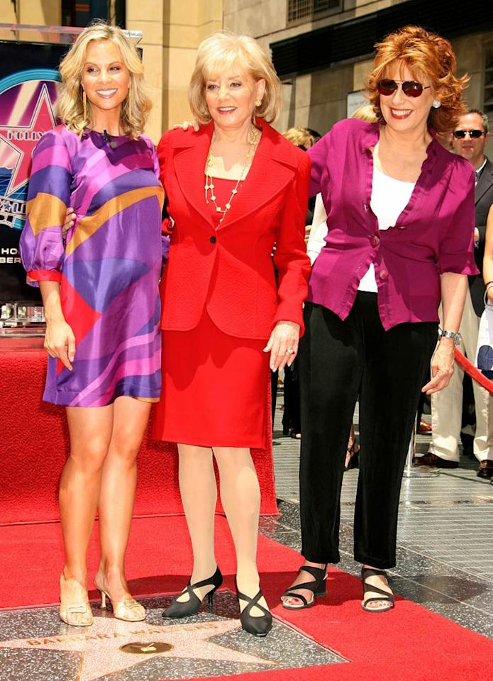 "Barbara Walters and the remaining ladies of ""The View."" Russell Einhorn/<a href=""http://www.splashnewsonline.com"" target=""new"">Splash News</a> - June 14, 2007"