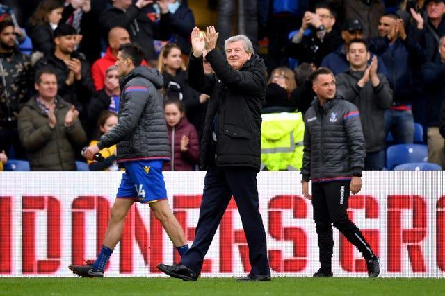 Roy Hodgson has kept Crystal Palace away from the relegation zone during his tenure at Selhurst Park