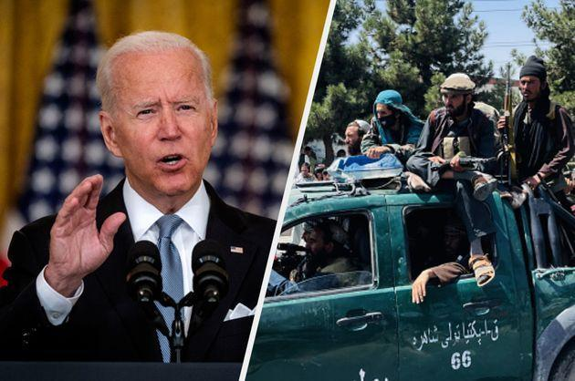 Joe Biden has stood behind his decision to withdraw from Afghanistan (Photo: Getty)