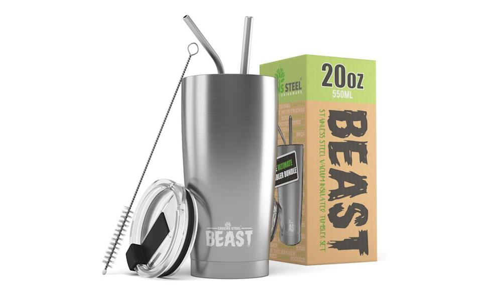 Beast insulated stainless steel tumbler
