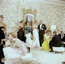 <p>People dusted off their jewels and dressed up for parties back in the day. From formal black-tie dinners to cocktail soirées, partygoers were dressed to the nines. </p>