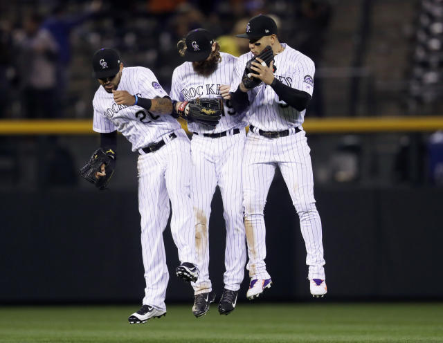 The Rockies control their own destiny, but things will get dicey if the losses start piling up. (AP Photo/David Zalubowski)