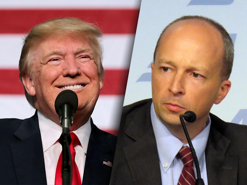 Donald Trump and Yuval Levin.