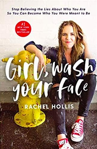 "<p>Rachel Hollis, author and the founder of TheChicSite.com, knows the reality of being your own harshest critic. In her book, <a href=""https://www.popsugar.com/buy/bGirl-Wash-Your-Faceb-535841?p_name=%3Cb%3EGirl%2C%20Wash%20Your%20Face%3C%2Fb%3E&retailer=amazon.com&pid=535841&evar1=fit%3Aus&evar9=47053488&evar98=https%3A%2F%2Fwww.popsugar.com%2Fphoto-gallery%2F47053488%2Fimage%2F47053489%2FGirl-Wash-Your-Face&list1=books%2Cself-care&prop13=api&pdata=1"" rel=""nofollow"" data-shoppable-link=""1"" target=""_blank"" class=""ga-track"" data-ga-category=""Related"" data-ga-label=""https://www.amazon.com/Girl-Wash-Your-Face-Believing/dp/1400201659"" data-ga-action=""In-Line Links""><b>Girl, Wash Your Face</b></a> ($12), she's shedding light on 20 harmful lies she continuously told herself, and how to overcome these self-inflicted, false realities. Her goal: to empower others to live with passion and drive by providing practical strategies for finding self-worth through humor and honesty.</p>"