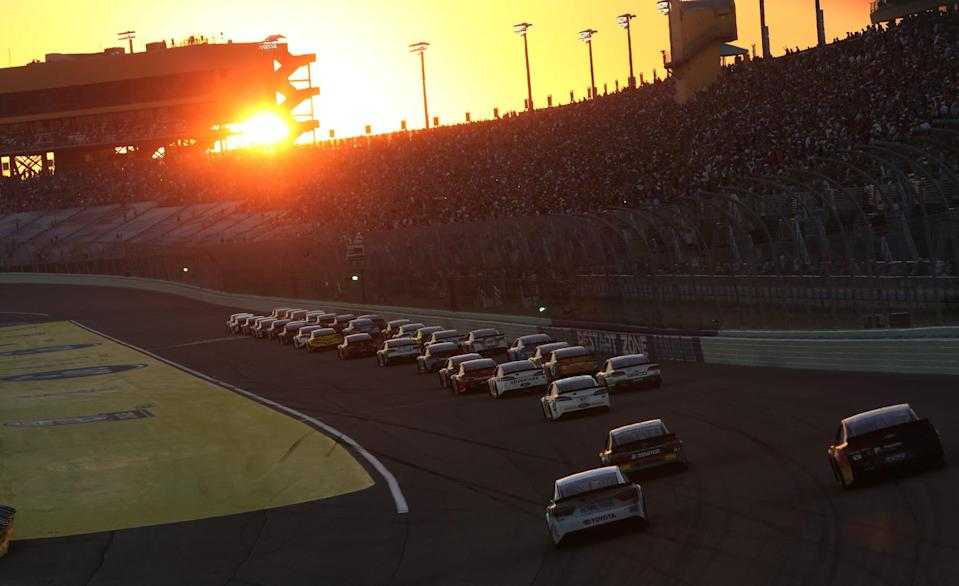 NASCAR races will be divided into three segments in 2017. (Getty)