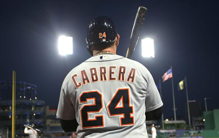 Miguel Cabrera won the Triple Crown in 2012 and is a future Hall of Famer.