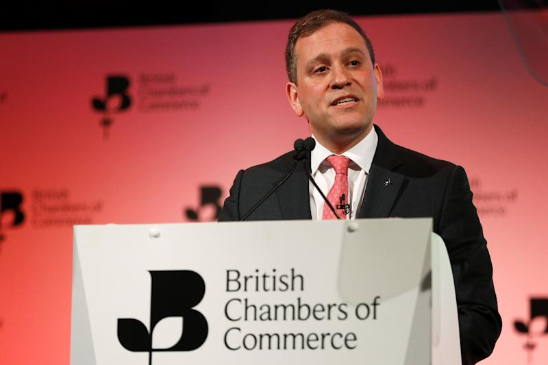 Adam Marshall, director general of the British Chamber of Commerce