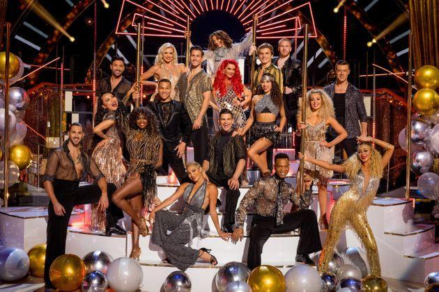 This year's team of Strictly Come Dancing professionals (Photo: BBC/Guy Levy)