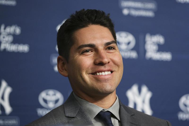 Switching sides: Ellsbury arrives at Yankees camp