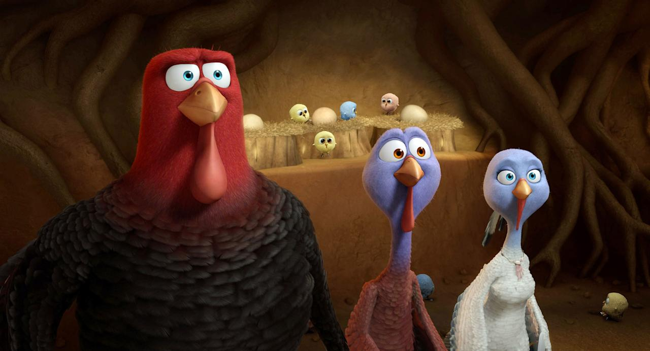 What happens when two turkeys travel back in time to 1621 to change history, preventing turkeys from becoming the main Thanksgiving dish? All goes wild when they run into the hungry Pilgrims who intend to make them their celebratory meal. Lighthearted, funny, and perfect for the whole family, this film is the perfect post-pie watch.