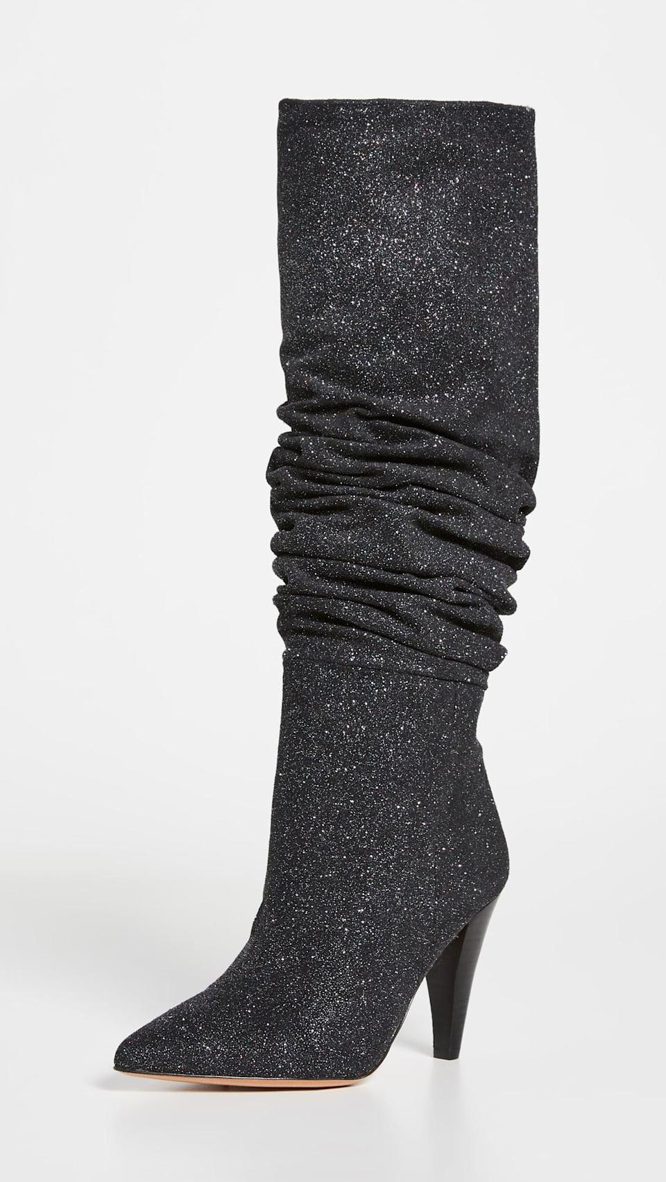<p>These <span>Iro Actik Boots</span> ($845) are so fun for a night out! Add a little sparkle to your everyday look, and thank us later.</p>