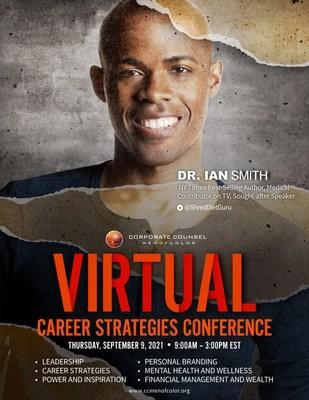Featured speakers at the upcoming event will include: author Jarrett M. Adams, Esq.; CEO  Eric Liu,; educator Dr. Steve Perry; television host Dr. Ian Smith; Philanthropist Roberto Clemente, Jr., Actor Hill Harper, and Entrepreneur Daymond John.