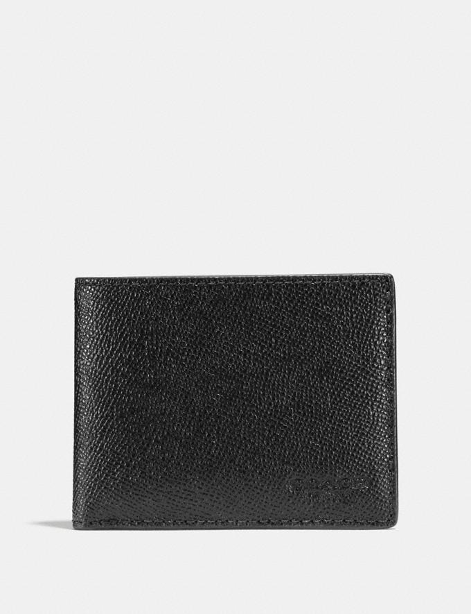 Slim Billfold Wallet, Coach- $64 ($150)