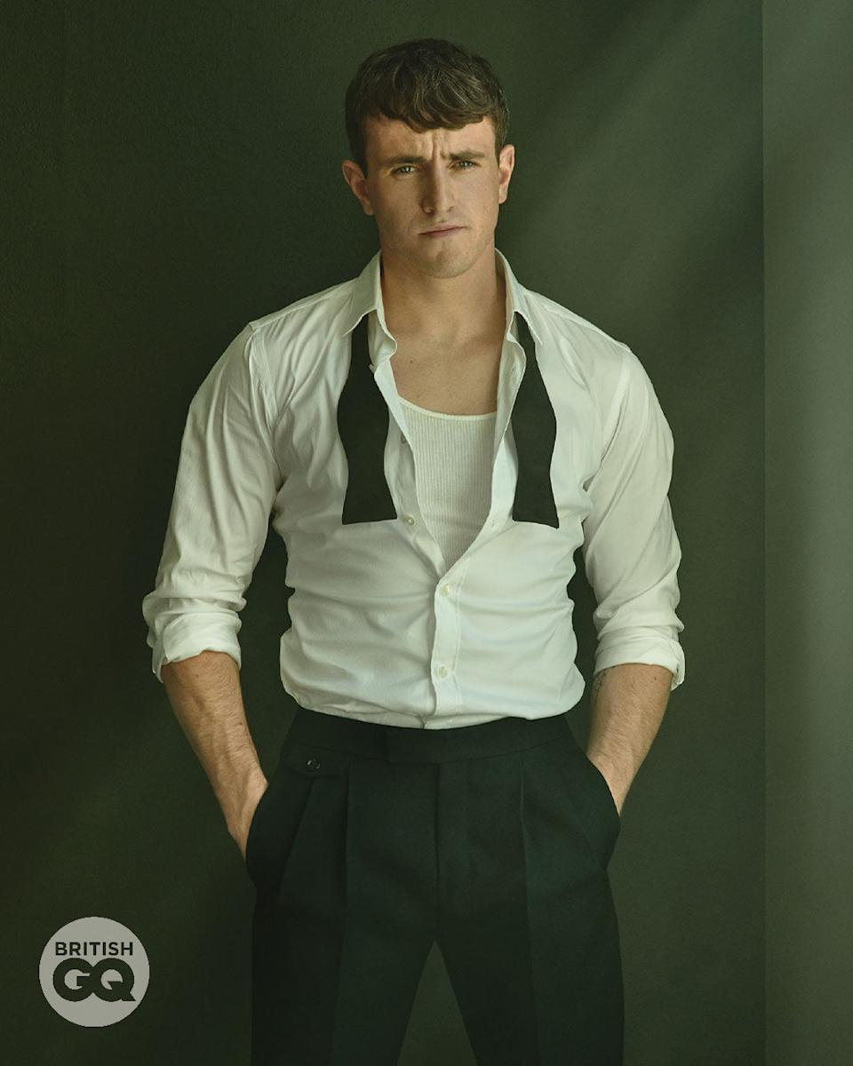 <p>The star will be named the Hugo Boss Breakthrough Actor Of The Year</p>Mariano Vivanco**