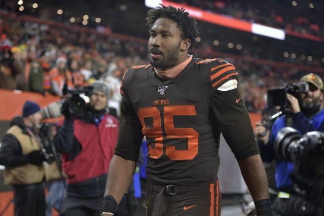 3 ways the Browns may try to make up for losing Myles Garrett's pass-rushing ability -- Film Review