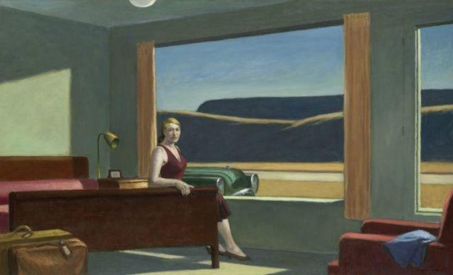 New exhibition 'Edward Hopper and the American Hotel' features opportunity to sleep overnight at museum