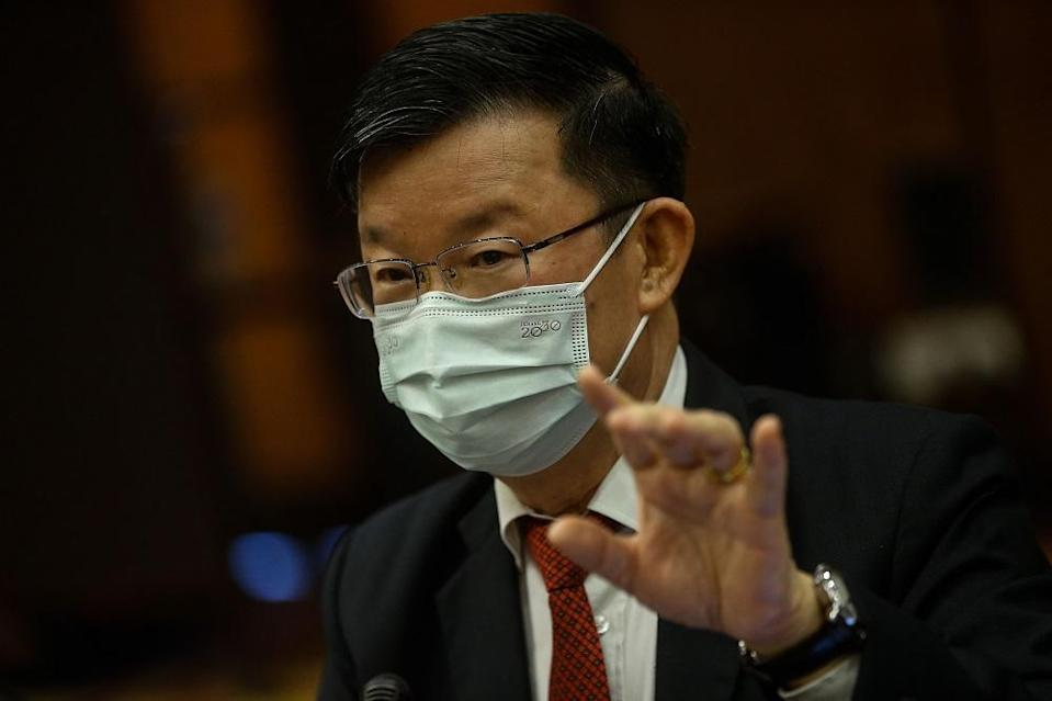 The Penang lawmaker told the state legislative assembly that the state collected revenue of RM467.56 million in 2020, which was 90.06 per cent of the estimated revenue for 2020 of RM519.16 million. — Picture by Sayuti Zainudin
