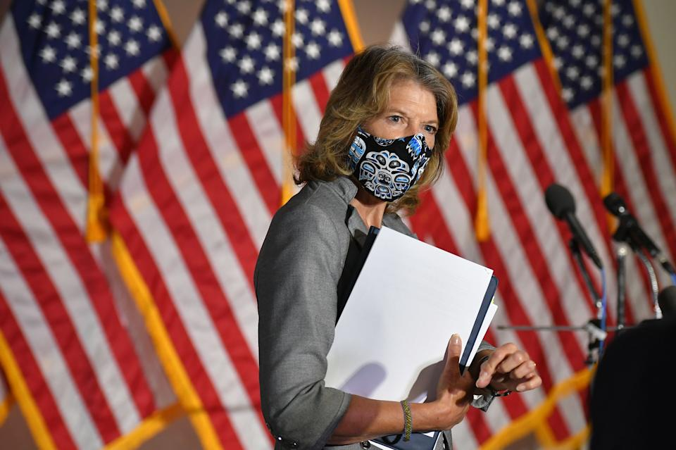 Senator Lisa Murkowski is one of a handful of Republicans who support removing Trump.  (Photo: MANDEL NGAN via Getty Images)
