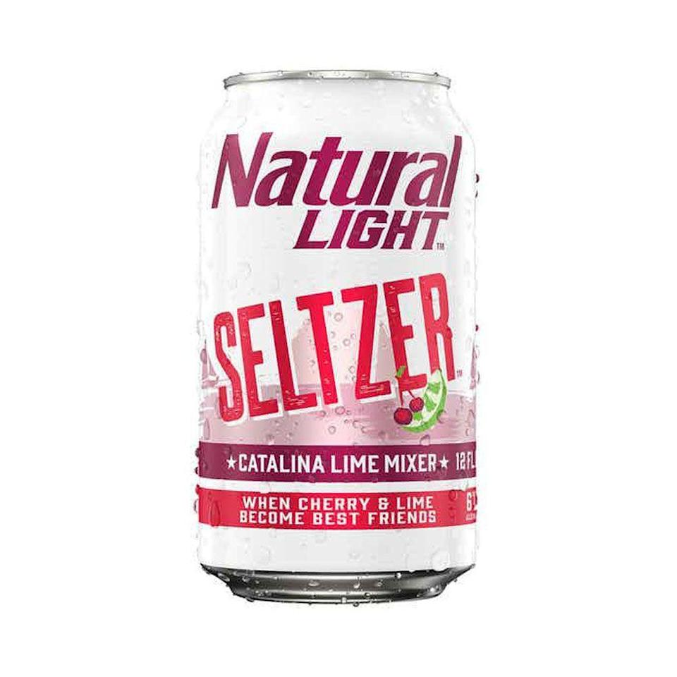 """<p>drizly.com</p><p><a href=""""https://go.redirectingat.com?id=74968X1596630&url=https%3A%2F%2Fdrizly.com%2Fbeer%2Fspecialty-beer-alternatives%2Fhard-seltzer%2Fnatural-light-seltzer-catalina-lime-mixer%2Fp96874&sref=https%3A%2F%2Fwww.cosmopolitan.com%2Ffood-cocktails%2Fg36596713%2Fbest-hard-seltzers%2F"""" rel=""""nofollow noopener"""" target=""""_blank"""" data-ylk=""""slk:BUY IT HERE"""" class=""""link rapid-noclick-resp"""">BUY IT HERE</a></p><p>You kinda sorta forget you're drinking seltzer, which could be a good thing if you're missing more sugary mixed drinks.<br><br><strong>Crushability: </strong>3<strong><br>Craveability:</strong> 2<br><strong>Creativity:</strong> 2<strong><br>Overall: </strong>7<br><strong><br>Calories:</strong> 133<strong><br>Sugar: </strong>1.9g<strong><br>ABV:</strong> 6%</p>"""
