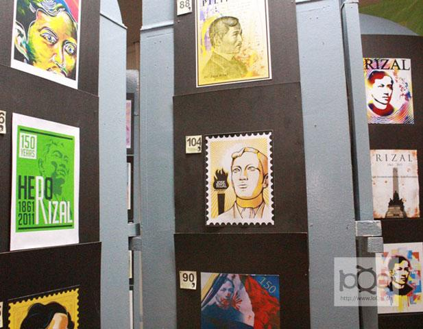 The National Historical Commission of the Philippines held a postage stamp design contest joined by students and art enthusiasts as part of activities celebrating the 150th birth anniversary of national hero Dr. Jose Rizal.