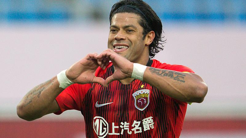 Hulk, pictured here in action for Shanghai SIPG.