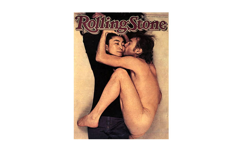 <p>Name a more iconic magazine cover. John Lennon and Yoko Ono starred on the 1981 cover of <em>Rolling</em> <em>Stone</em> just hours before The Beatles member was murdered. <em>[Photo: Rolling Stone]</em> </p>