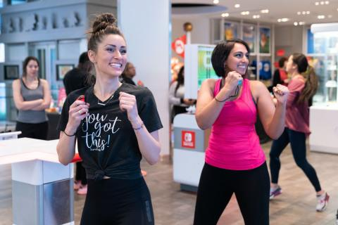 Photos of theFitness Boxing Event at Nintendo NY Store Are Available on Business Wire's Website and the Associated Press Photo Network