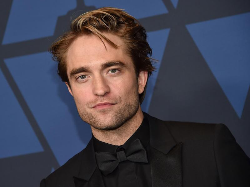 Pattinson will play Batman in the 2021 film: AFP via Getty Images