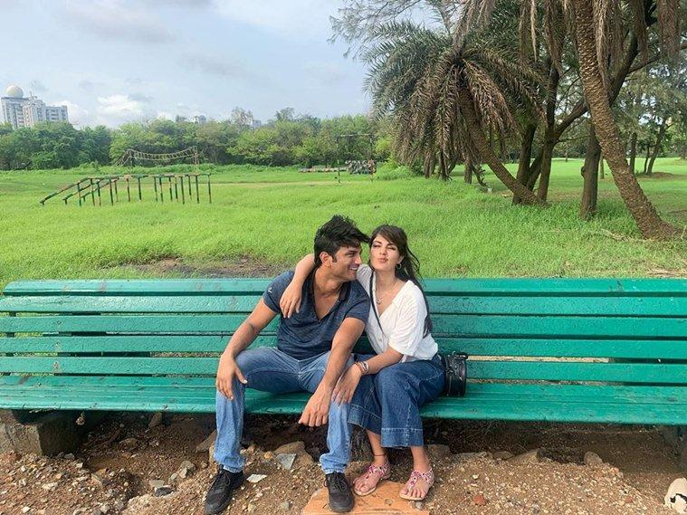 Rhea Chakraborty dating Sushant Singh Rajput