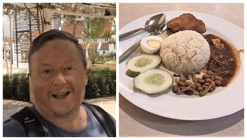 YouTuber Darren Cronian fell in love with Malaysia and its food ever since he visited the country back in 2015. — Picture via YouTube/remotedarren