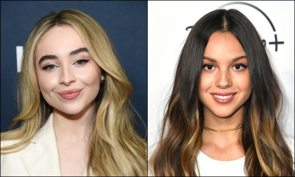 """Sabrina Carpenter dropped """"Skin"""" on Jan. 22. Fans think it could be a response to Olivia Rodrigo's """"Drivers License,"""" which came out Jan. 8."""