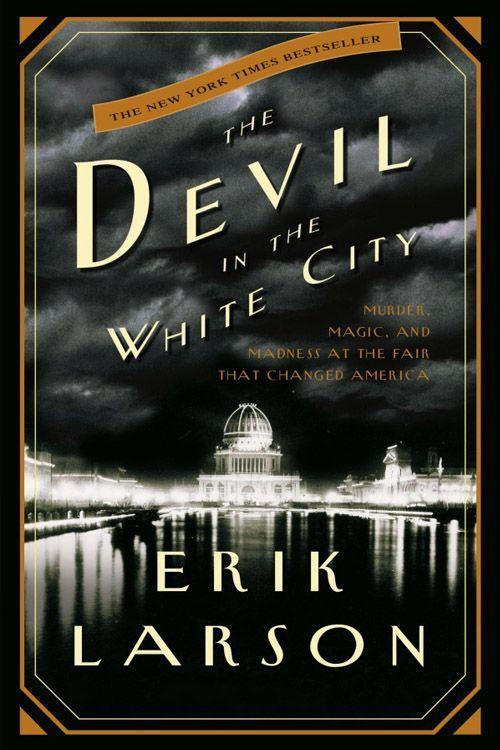 """<p><strong><em>Devil in the White City</em> by Erik Larson</strong></p><p><span class=""""redactor-invisible-space"""">$9.99 <a class=""""link rapid-noclick-resp"""" href=""""https://www.amazon.com/Devil-White-City-Madness-Changed/dp/0375725601/ref=tmm_pap_swatch_0?tag=syn-yahoo-20&ascsubtag=%5Bartid%7C10063.g.34149860%5Bsrc%7Cyahoo-us"""" rel=""""nofollow noopener"""" target=""""_blank"""" data-ylk=""""slk:BUY NOW"""">BUY NOW</a></span></p><p><span class=""""redactor-invisible-space"""">Based on real characters and events, <em>Devil in the White City</em> is a riveting mystery set in Chicago in 1893. Architect Daniel Hudson Turnham — the builder behind New York City's Flatiron building and Washington, D.C.'s Union Station — was developing the 1893 World's Fair, bringing in talent, and turning the swamp area into an attraction. Meanwhile, a young doctor by the name of Henry H. Holmes was building the World's Fair Hotel right near the fairgrounds, where he would lure women into his torture chamber and murder them. <br></span></p>"""