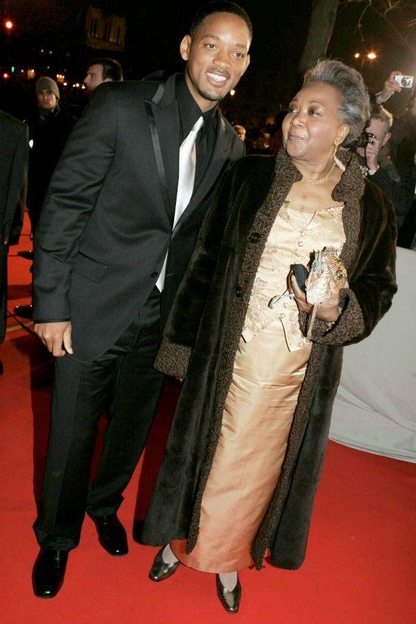 <p>Will and his mother, Caroline Bright, grace the red carpet at the 2005 Cesar Film Awards in France.</p>