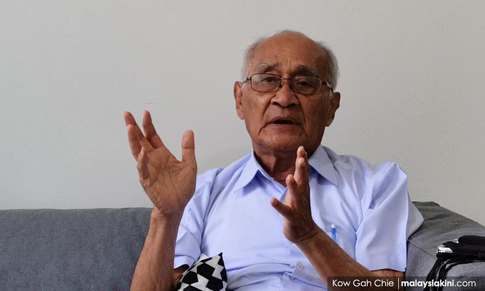 Syed Husin: History books need open minds, not emotional politicians