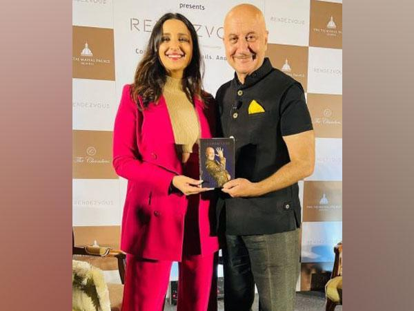 Anupam Kher with Parineeti Chopra