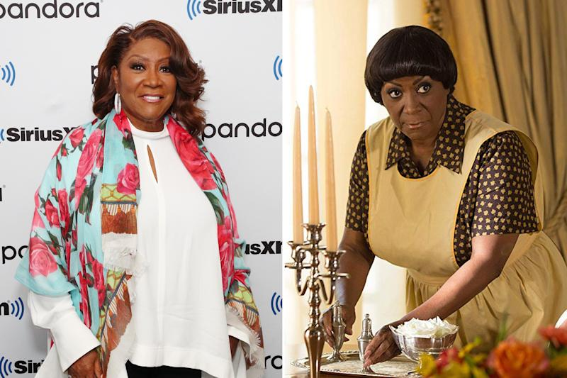 Patti LaBelle is showbiz glamor personified, but she underwent a pretty drastic makeover for her role in Freak Show. Photos courtesy of Getty Images and IMDB.