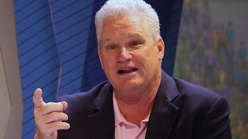 Dean Jones, pictured here addressing the media in a press conference in India in 2019.