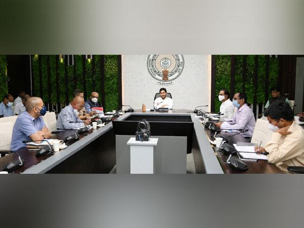 Andhra CM directs officials to strengthen COVID helpline 104