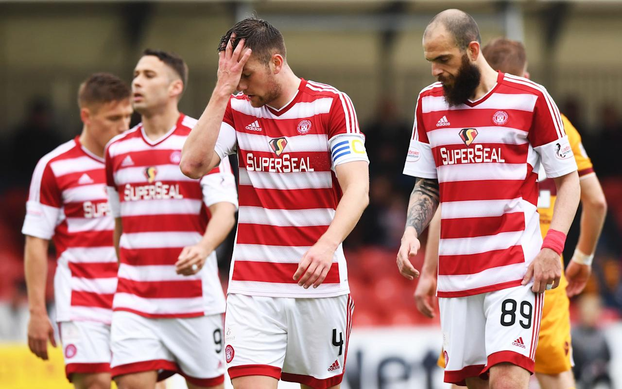 Hamilton Academical edge closer to the drop after dismal Motherwell defeat