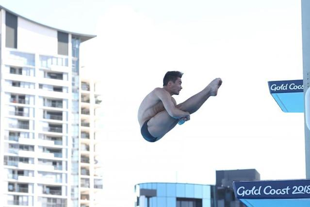 Someone's got to do it! Tom Daley's diving partner on sharing place in the sun with Olympic idol