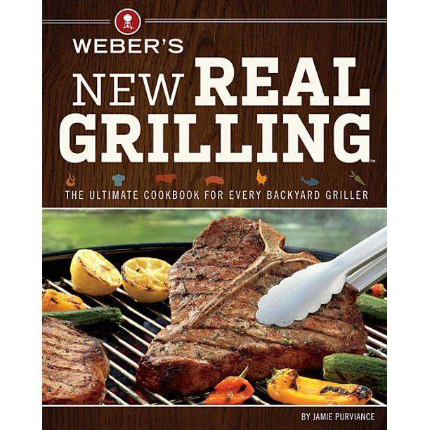 """<p><strong>Weber's</strong></p><p>walmart.com</p><p><strong>$21.13</strong></p><p><a href=""""https://fave.co/2WJ6Hv1"""" rel=""""nofollow noopener"""" target=""""_blank"""" data-ylk=""""slk:BUY NOW"""" class=""""link rapid-noclick-resp"""">BUY NOW</a></p><p>If you're looking for a little variety in your life, we've found it. This book has a whopping 200 recipes, so you'll be able try new things for many summers to come while still finding old standbys. Alongside recipes, you'll also get a guide on mastering the basics of grilling and all the <a href=""""//www.delish.com/food-news/g32382083/best-grill-pans/"""" data-ylk=""""slk:helpful tools"""" class=""""link rapid-noclick-resp"""">helpful tools</a> you'll need. This is a great gift to give along with a grill. </p>"""
